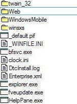 File Manager under Windows Windows 8, Windows 7, Vista and